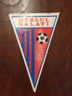 ROMANIA Fanion / Pennant - CSG Otelul Galato Club De Fotbal - Apparel, Souvenirs & Other