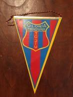 ROMANIA Fanion / Pennant - Romania Gloria Pandurii Tg. Jiu / Fotbal - Apparel, Souvenirs & Other