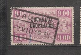 COB 34 Oblitéré - Newspaper