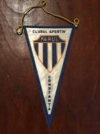 ROMANIA Fanion / Pennant - Romania  Clubul Sportiv Farul Constanta Fotbal - Apparel, Souvenirs & Other