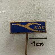 Badge (Pin) ZN002784 - Airplane (Avion / Flugzeug) Kuwait Airways (KAC) - Airplanes
