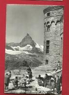HBD-09  Gornergrat Sur Zermatt. Terrasse De L' - VS Valais