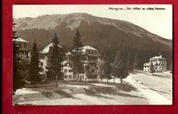 HBD-11 Morgins  Grand Hotel Et Hotel Victoria, En été. Cachet 1921. - VS Valais