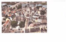 27 Vernon Vue Aerienne La Mairie Eglise Pont Edit Combier N°89.83 - Vernon