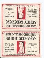 Calendrier - 1952 - Eau De Table Gazéifiée SAINTE GENEVIEVE - Source Gonesse - Format Plié 6.5 Cm Sur 10 Cm - Small : 1941-60