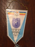 Pennant Romania - UNIVERSITATEA Craiova Campioana RSR ... UEFA! - Apparel, Souvenirs & Other