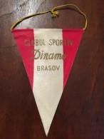 Pennant Romania - Club Sportiv Dinamo Brasov - Apparel, Souvenirs & Other