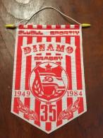 Pennant Romania - Dinamo Brasov 1984 Romania! - Apparel, Souvenirs & Other