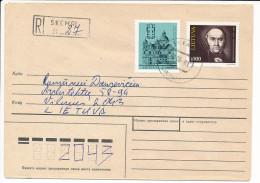 Registered Domestic Cover - 1 June 1993 Skemai - Lithuania