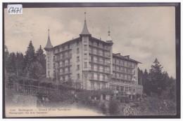 DISTRICT D´ORBE /// BALLAIGUES - HOTEL AUBEPINE - B  ( LEGERE FROISSURE ANGLE HAUT GAUCHE ) - VD Vaud