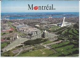 Montreal,Canada.Olympic Village And Stadium.Stadium,football Stadion,stade Olympique - Stadiums