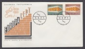 CEPT Europa - FDC 1969 - Griechenland Greece - MiNr. 1004-1005 - Europa-CEPT
