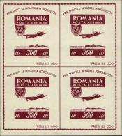 Romania Scott #CB8, 1946, Never Hinged - Luftpost