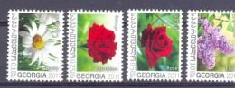 2010. Georgia, Flowers Of Georgia, 4v, Mint/** - Georgia