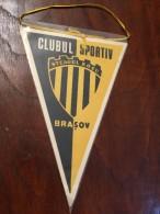 Pennant - Fanion Romania CLUB SPORTIV STEAGU ROSU BRASOV SCHI! - Apparel, Souvenirs & Other