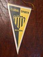 Pennant - Fanion Romania CLUB SPORTIV STEAGU ROSU BRASOV - Apparel, Souvenirs & Other