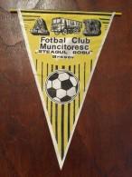 Pennant - Fanion Romania FOTBAL CLUB MUNCITORESC STEAGUL ROSU BRASOV - Apparel, Souvenirs & Other