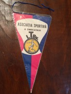 Pennant - Fanion Romania ASOCIATIA SPORTIVA A SINDICATULUI I.TBV. 1977 - Apparel, Souvenirs & Other
