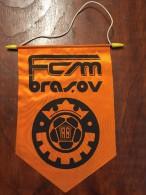 Pennant - Fanion Romania FCM BRASOV 1 - Apparel, Souvenirs & Other
