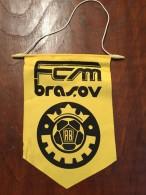Pennant - Fanion Romania FCM BRASOV 3 - Apparel, Souvenirs & Other