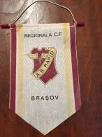 Pennant - Fanion Romania AS RAPID REGIONALA CF BRASOV - Apparel, Souvenirs & Other