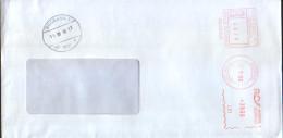 Romania - Letter Circulated In 2000, With Machine Stamp - Marcofilia - EMA ( Maquina De Huellas A Franquear)