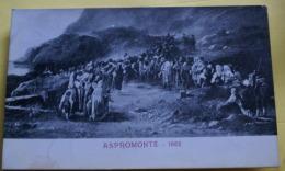 ITALIA - 1926 ASPROMONTE - Andere Steden