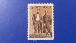 ALBANIA 1947 ENVER HOXHA AND VASIL SHANTO - Albania