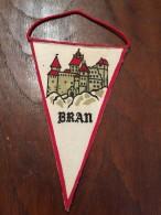 ROMANIA PENNANT BRASOV BRAN (DRACULA!) - Stickers