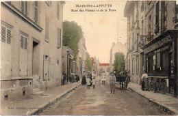 MAISONS LAFFITTE - Rue Des Plantes Et De La Poste - Arrelage    (90957) - Maisons-Laffitte