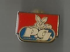 Pin´s Supermarchés PG (lapin) - Marques