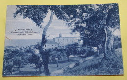 ITALIA - 1931 ,GIULIANOVA  VIAGGIATA , ANNULLO SU VIRGILIO  20 CENT - Teramo