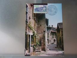FRANCE (1988) Pérouges , Ain - Maximum Cards