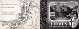 16 / 9 / 242  -    DÉPLIANT  DE  FEIDEN  ( RHÉNANIE PALATINAT )B - Dépliants Touristiques