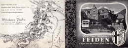 16 / 9 / 242  -    DÉPLIANT  DE  FEIDEN  ( RHÉNANIE PALATINAT )B - Tourism Brochures