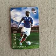 Magnet En Relief Equipe De France De Football 2010, Carrefour Bacary Sagna - Sports