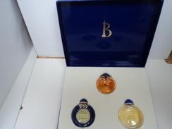 """BOUCHERON"""" LA COLLECTION  JOYAUX"""" COFFRET 3 MINIS :BOUCHERON/JAIPUR/JAIPUR SAPHIR   LIRE ET VOIR !! - Miniatures Modernes (à Partir De 1961)"""