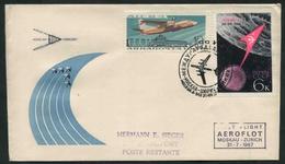 1967 URSS, Primo Volo First Flight AEROFLOT Mosca - Zurigo, - Covers & Documents