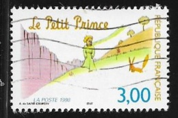 N° 3176  FRANCE -  OBLITERE  - PETIT PRINCE AVEC RANARD  -  1998 - France