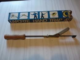 LANCEUR MANUEL DE PLATEAUX DE TIR AUX CLAYS - LAPORTE HAND TRAP 45 - Outils