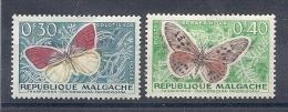 140016091  MADAGASCAR  YVERT    Nº  341/2  */MH - Madagascar (1960-...)