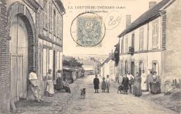 CPA 10 LA LOUPTIERE THENARD LA GRANDE RUE - Other Municipalities