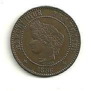 2 Cts Cérès 1886 A - Frankreich