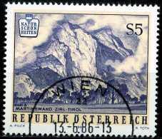 Österreich - Michel  1851 - OO Gestempelt (B) - Naturschönheiten Martinswand Bei Zirl - 1981-90 Gebraucht