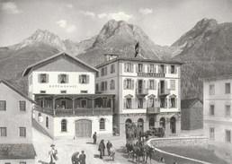POSTKUTSCHE, SCUOL HOTEL KRONE, REPRO - GR Graubünden