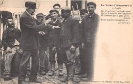 89 -Auxerre - La Prise D´Auxerre  (4) - Belle Animation Au 3e Couplet - Auxerre