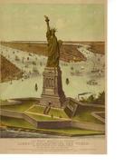 """Carte Pré-timbrée Tarif  """"  MONDE--20g """" Statue De La Liberté - Postal Stamped Stationery"""