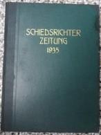SCHIEDSRICHTER ZEITUNG 1935 (FULL YEAR, 24 NUMBER), DFB  Deutscher Fußball-Bund,  German Football Association - Livres