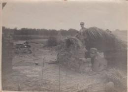 10625-MILITARI IN POSTAZIONE-PRIMA GUERRA MONDIALE-FOTO - Guerre, Militaire