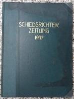 SCHIEDSRICHTER ZEITUNG 1937 (FULL YEAR, 24 NUMBER), DFB  Deutscher Fußball-Bund,  German Football Association - Livres